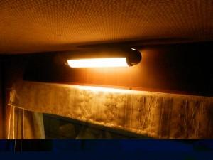 シングルツイン・窓上の照明