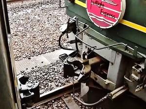 トワイライトエクスプレスの機関車交換81-81