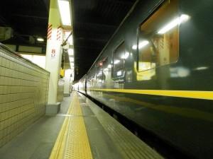 金沢駅停車中