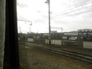 東金沢にて